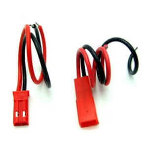 JST connector set incl. bedrading (male/female)