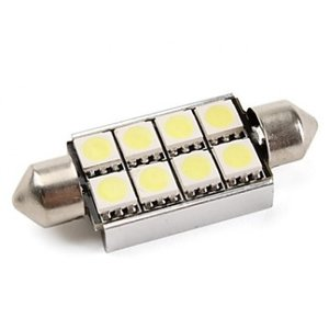C5W 8 LED SMD 5050 42MM Canbus