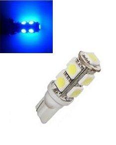 24V T10 W5W led 9x 5050 SMD blauw