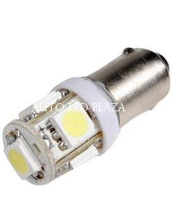 BA9S 6 Volt LED 5X 5050SMD LED xenon wit