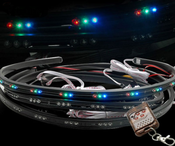 Underbody LED kit incl. remote controller 4x 120cm