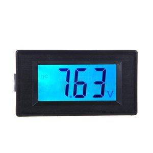 Voltmeter 7,5v tot 19,99v groot display incl. blauw achtergrond licht