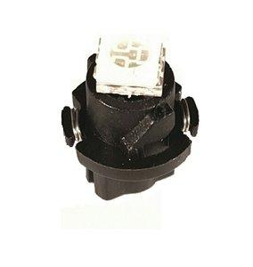 T5 1x 5050SMD LED incl twist houder ice Blauw