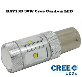 BAY15D 1157 30W Cree XBD-R2 Canbus Highpower LED