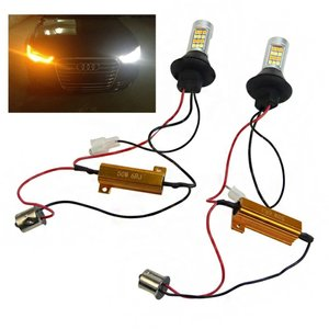 DRL / knipperlicht switchback set gold series (T20 aansluiting..!!)
