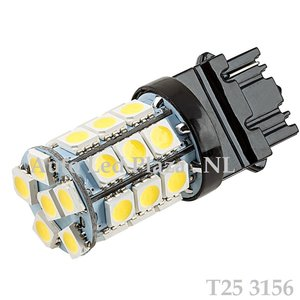T25 3156 27x 5050SMD LED Xenon Wit