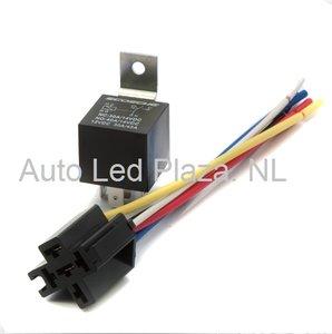 5 pins 12V 40Amp schakel relay t.b.v. aansturing LED balk