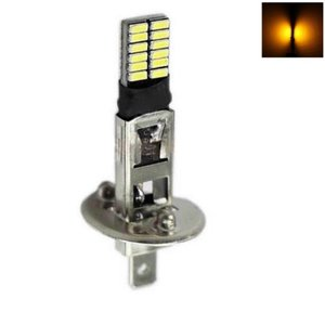 H1 24x 4014SMD LED oranje Amber