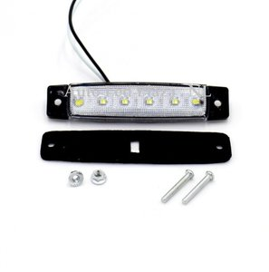 24V Wit zijmarkering 6x LED unit