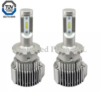 D3S, D3R LED 72W 8000LM dimlicht set