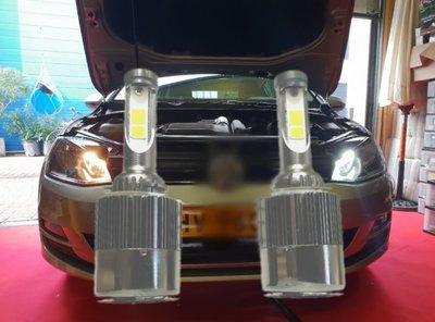 H15 600LM/3800LM DRL & grootlicht combi LED unit set